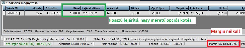 bináris opciós kereskedési törvények)