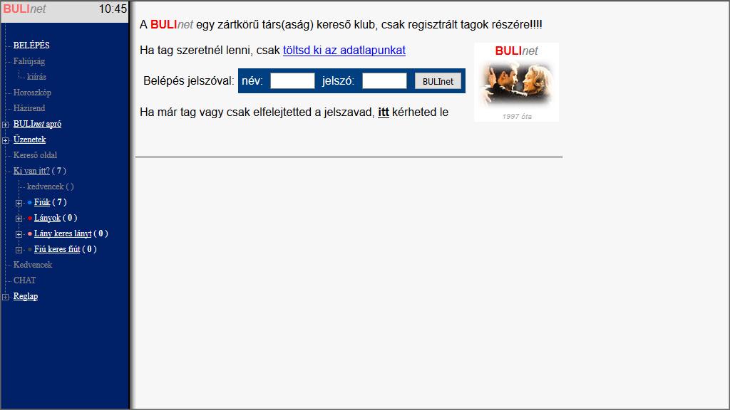 Az internetes oldalak keresnek)