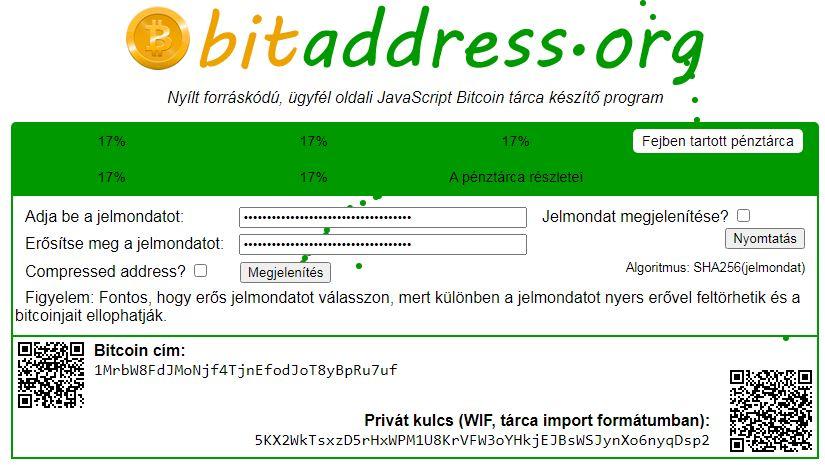 bitcoin készítő)