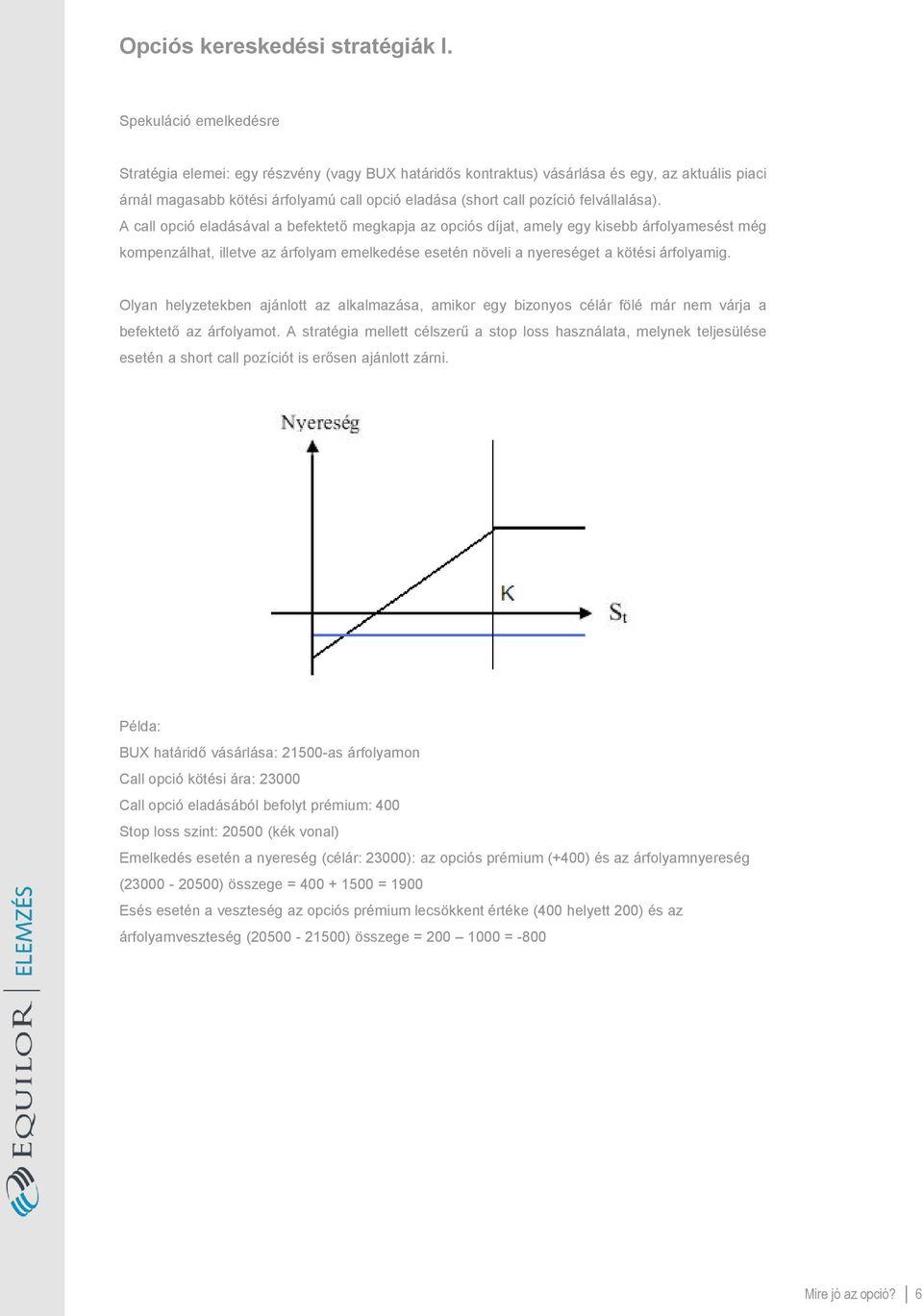 Opciós ügyletek: Alapok és részletek | reaktorpaintball.hu