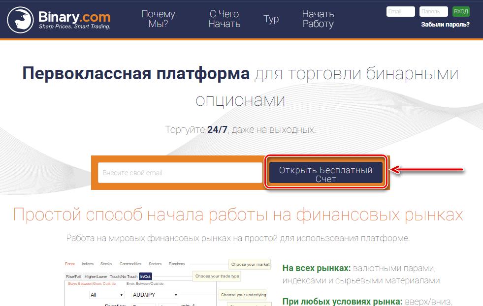 bináris opciók demó számlával regisztráció nélkül