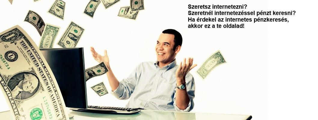 internetes pénz, hogyan lehet pénzt keresni