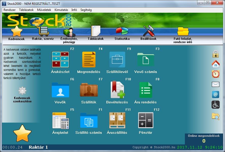 24 opciós demo verzió