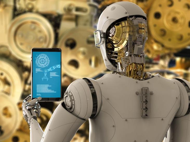 robot, amely keres)