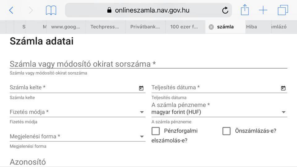 tranzakciók másolása valós számlákról)