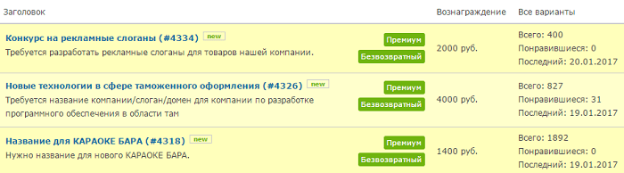 új ötletek, amelyekben pénzt lehet keresni)
