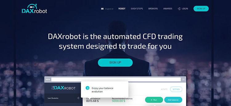 bináris opciók robot weboldala