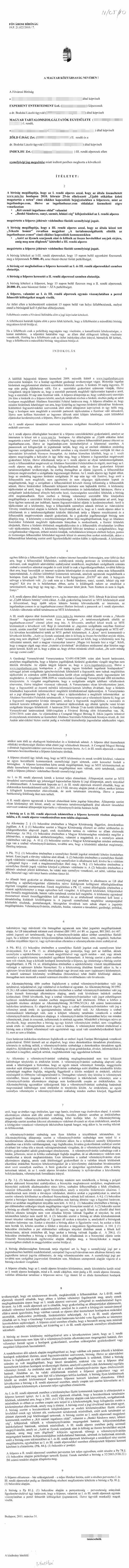 internetes kereseti törvény demo terminál bináris opciók