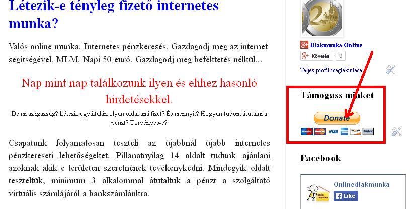 pénzkeresés az interneten befektetések nélkül valós)
