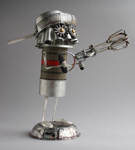 robot a lehetőségek keresésére