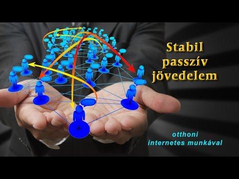 munka az interneten stabil jövedelem