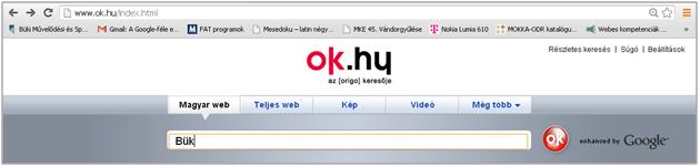 kereső rendszerek az interneten keresztül)