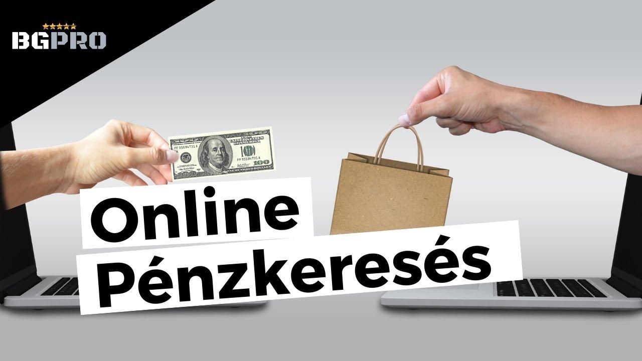 az interneten végzett munka a pénzkeresés egyik módja gyors, megbízható kereset