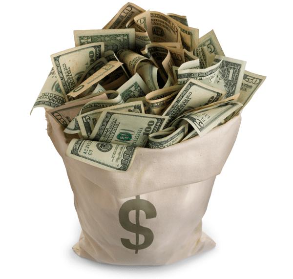 hogyan lehet pénzt keresni egy dollár befektetésével