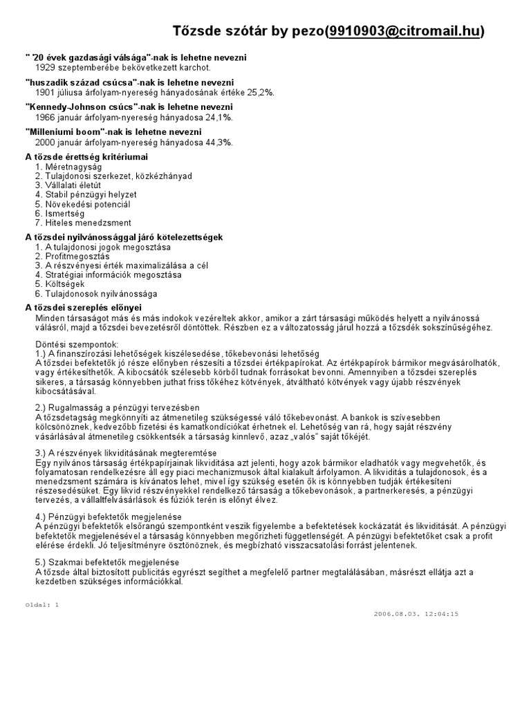 részvény értékesítése - Adózóreaktorpaintball.hu