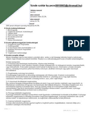 részvényopciós megállapodás mintája