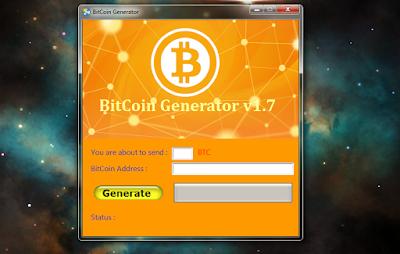 bitcoin generátor)