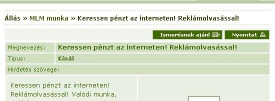 pénzt keresni az internet segítségével)