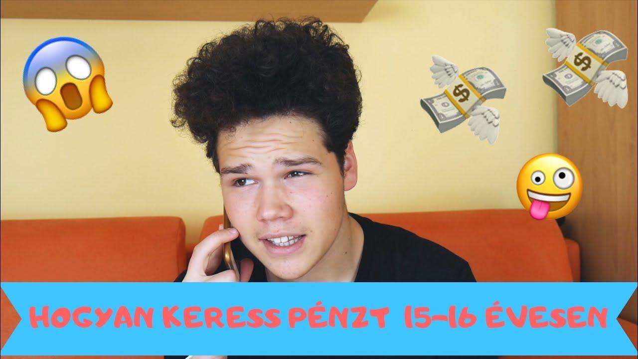 hogyan lehet pénzt keresni 13 évesen az interneten)