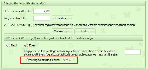 opciószámítási program)