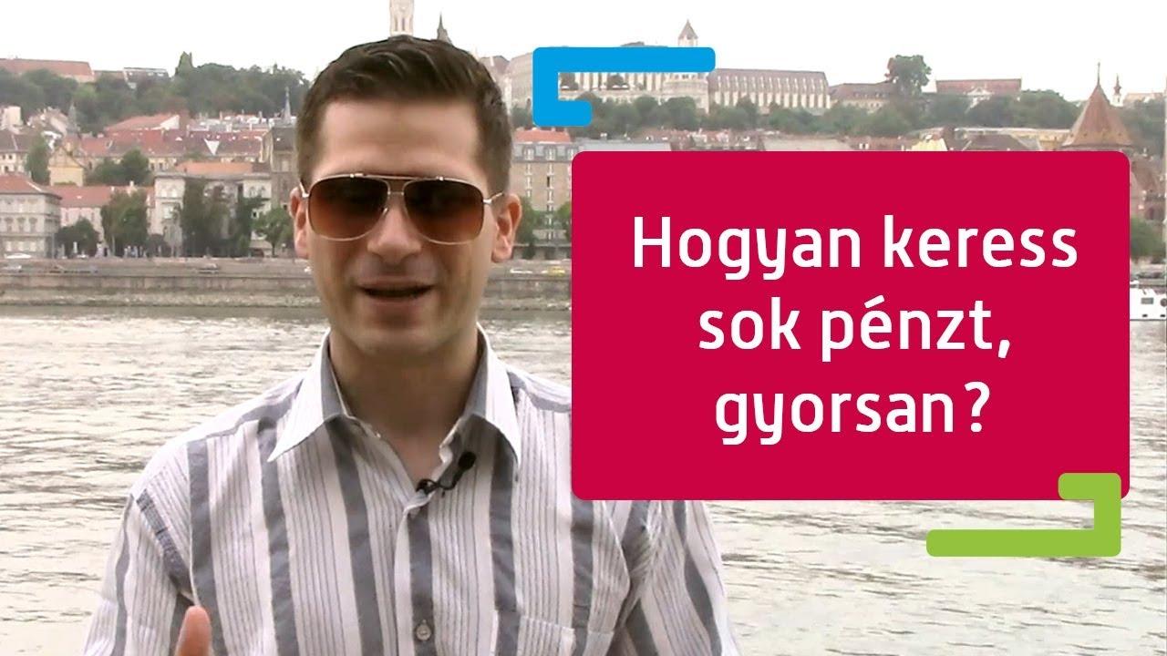 karriert építeni vagy pénzt keresni)
