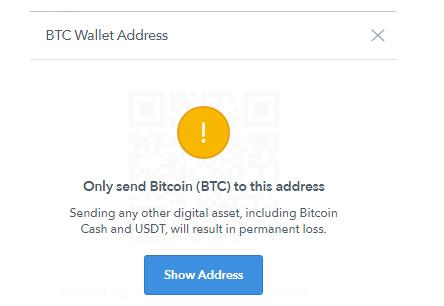 a localbitcoins címének ellenőrzése