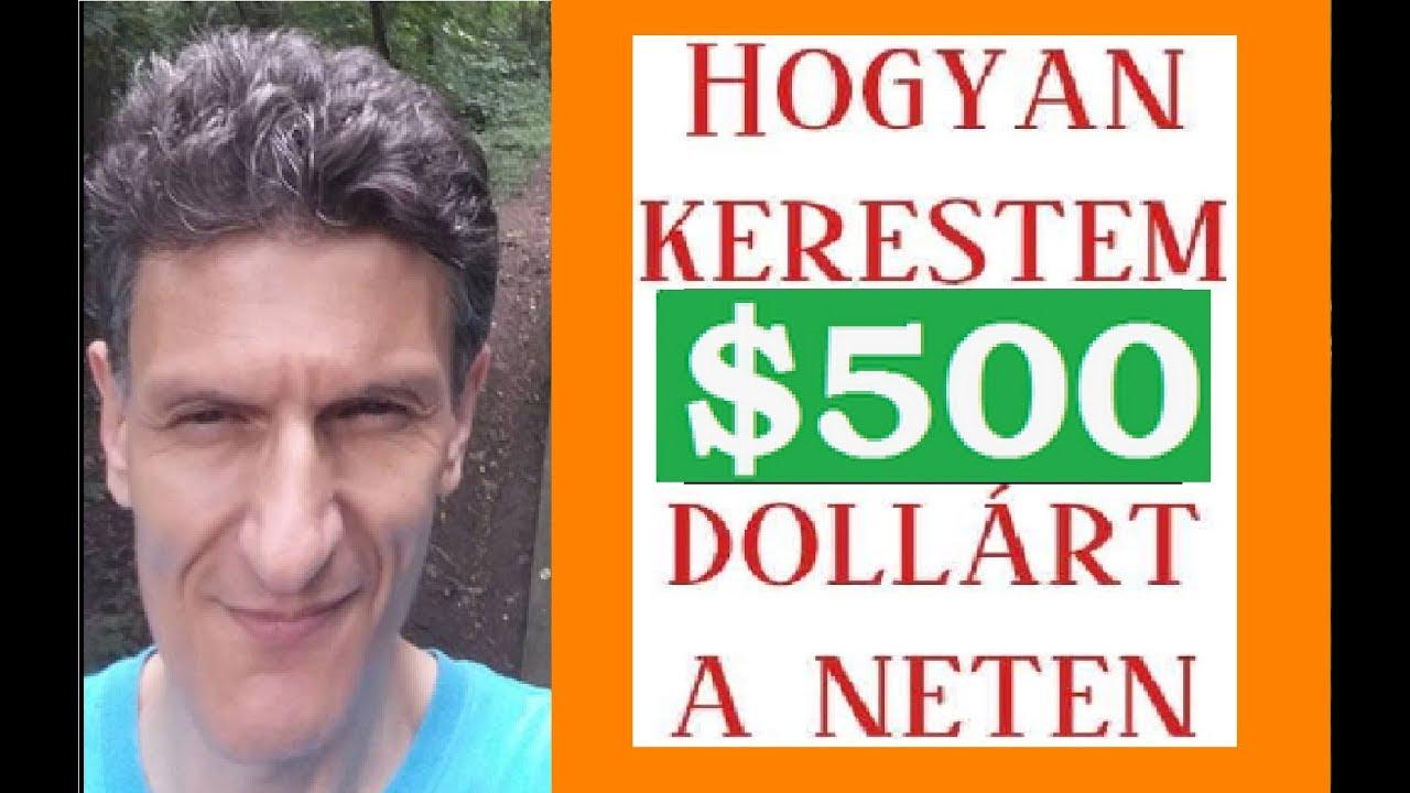 pénzt keresni az interneten az)