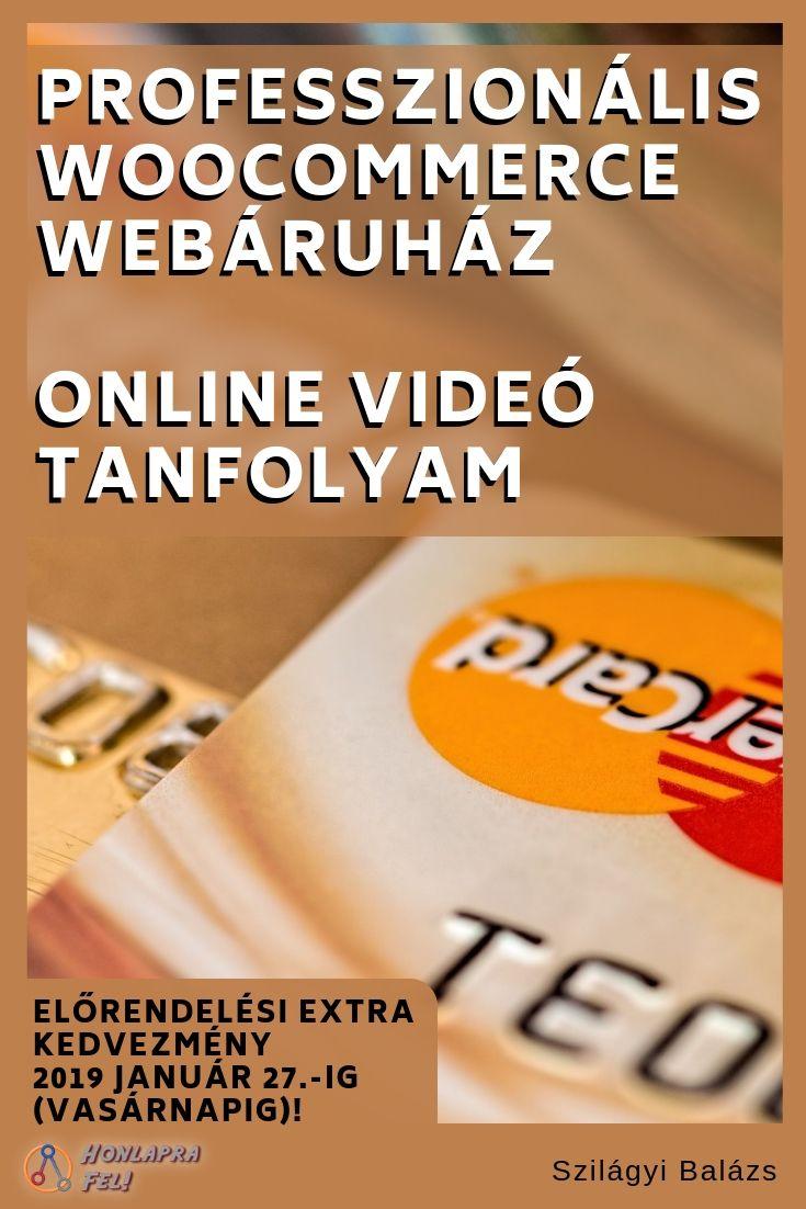 videó tanfolyam bevétel internet
