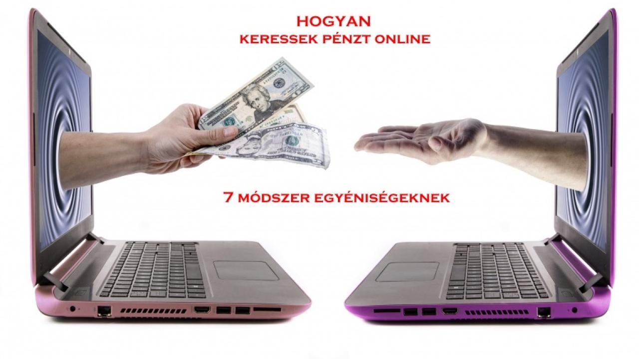 pénzt keresni az interneten számítógépen
