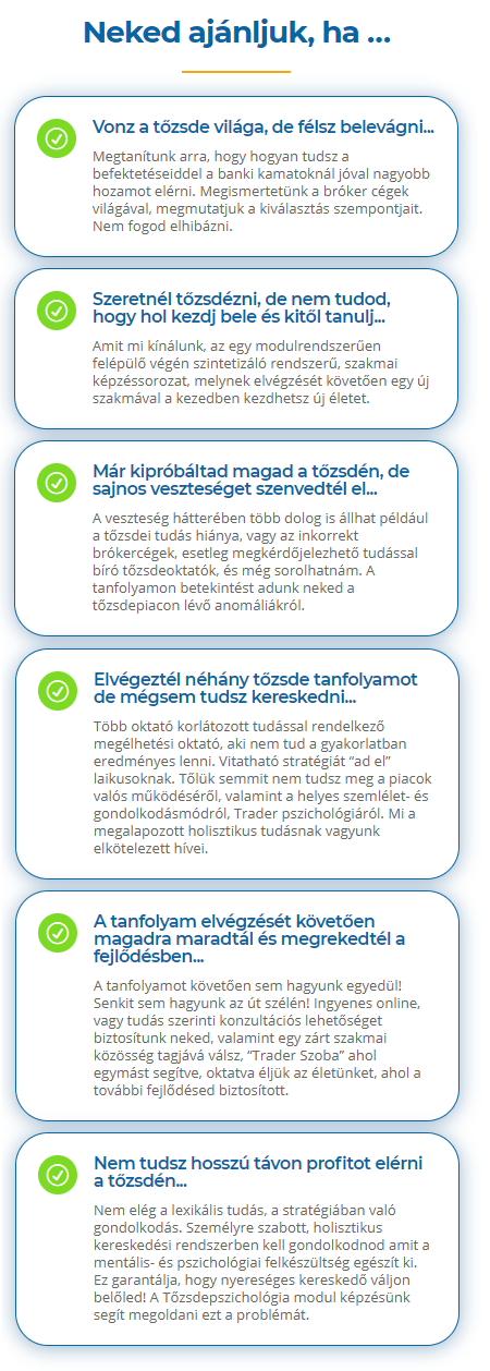 Kereskedelmi, marketing és vállalkozási tanfolyamok Budapesten