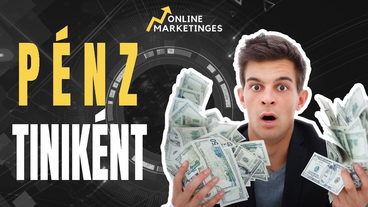 valóban lehet online pénzt keresni?