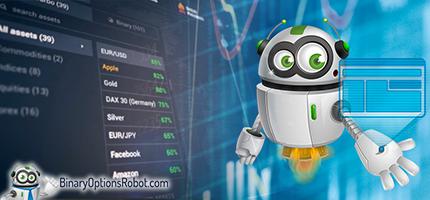 A robot az automatizált kereskedési bináris opciók