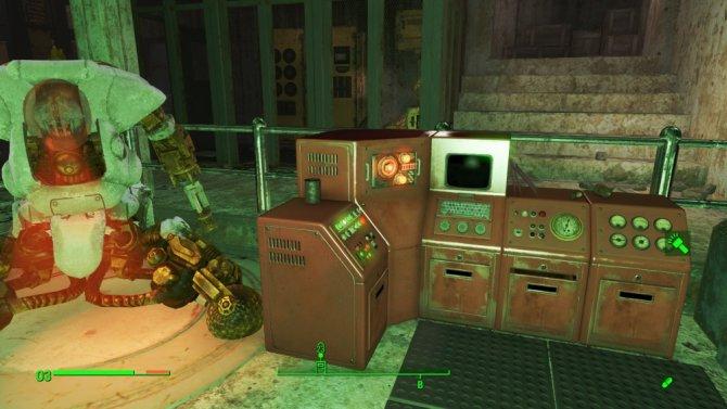 A Fallout 4 űrruhát nem dobják el. Használjon három magot a csillaghajó meghajtására