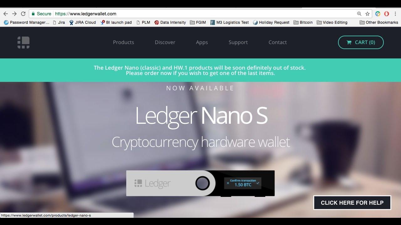 Főkönyv Nano S Wallet áttekintés - Dobrebit Coin