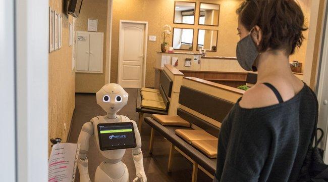 robot bevásárlóközpont videó)