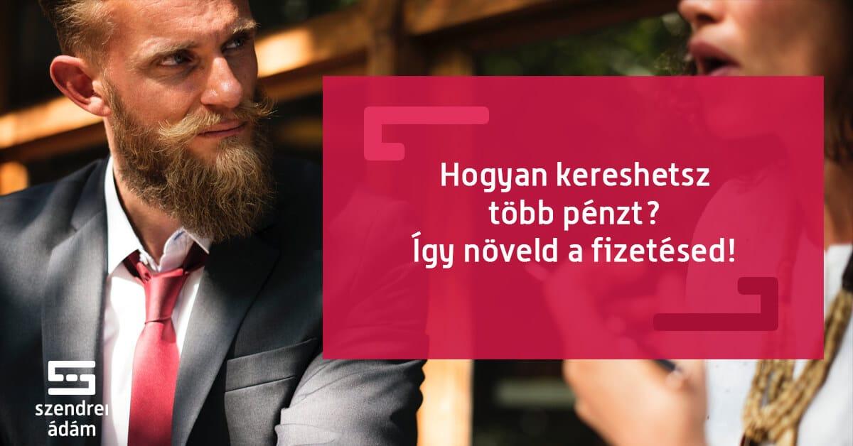 pénzt keresni az emberekkel)