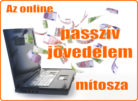 internet és passzív jövedelem