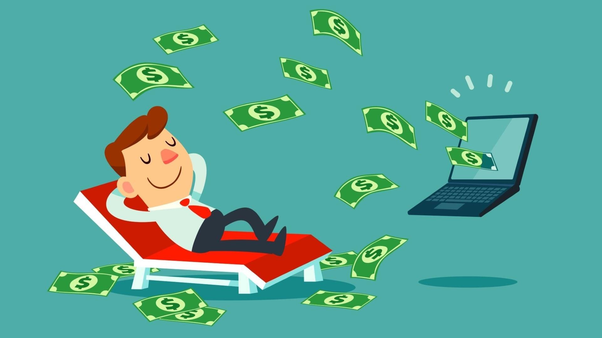 passzív jövedelem az interneten befektetésekkel